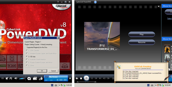 DVDFab Passkey Screenshot