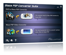 BlazeVideo PSP Converter Suite Screenshot