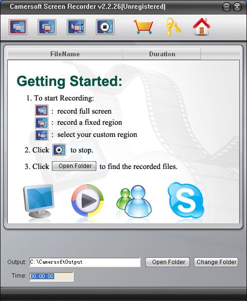 Camersoft Screen Recorder Screenshot 1