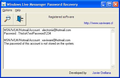 Windows Live Mail Password Recovery 1