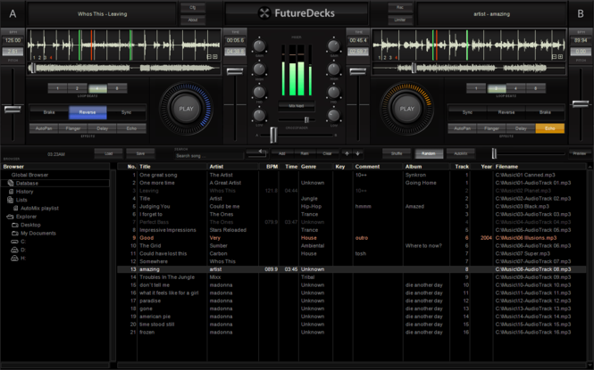 FutureDecks Express Screenshot 2