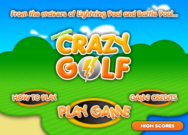 Lightning Crazy Golf Screenshot