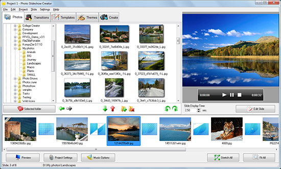 Photo Slideshow Creator Screenshot