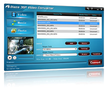 BlazeVideo 3GP Video Converter Screenshot 2
