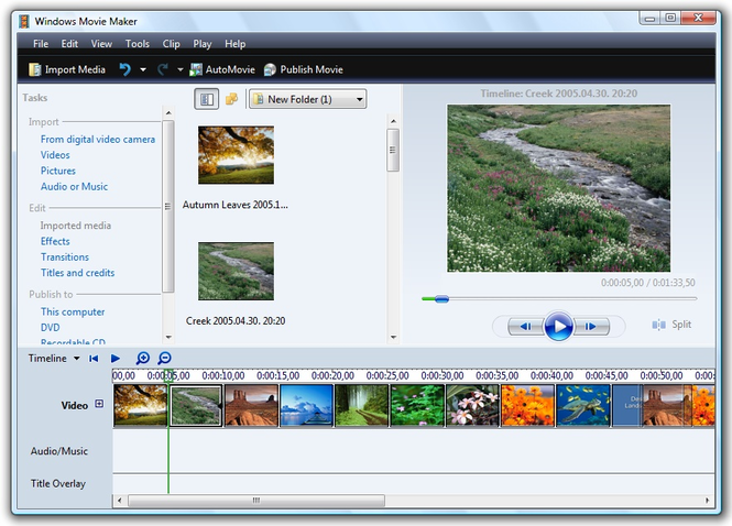 Windows movie maker installer 1. 3 build 24. 4 software updates.
