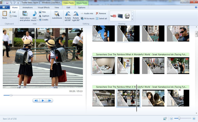 Windows Live Movie Maker Screenshot 4