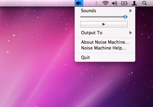 Noise Machine Screenshot