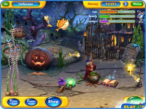 Fishdom: Spooky Splash Mac Screenshot