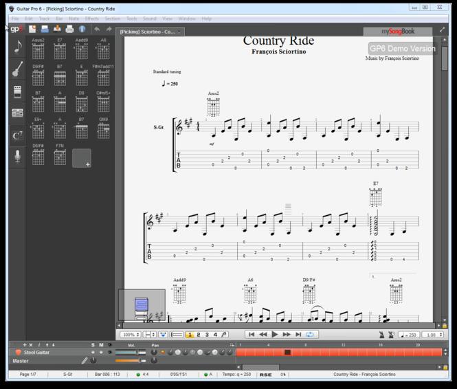Guitar Pro Free Trial Screenshot 2