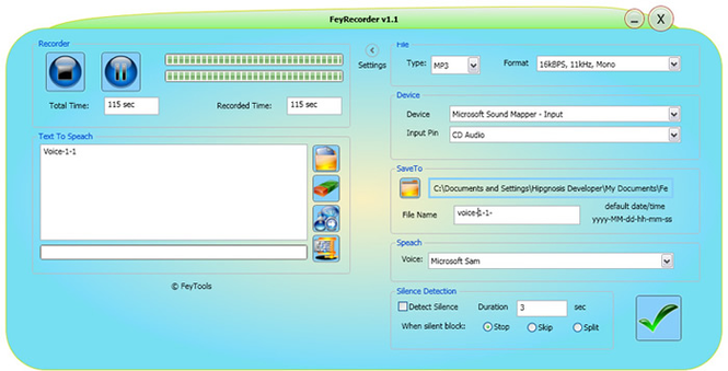FeyRecorder Screenshot 1