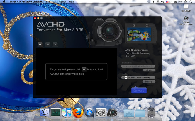 Tanbee AVCHD Converter for Mac Screenshot