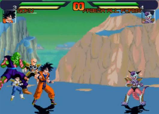 Dragon Ball Z MUGEN Edition Screenshot 1