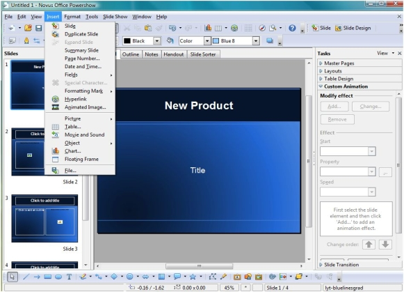 Novus Office Premium Screenshot