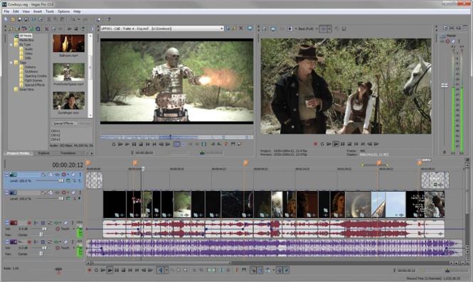 Sony Vegas Pro Screenshot 2