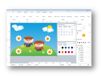 GrafX Creative Studio Screenshot