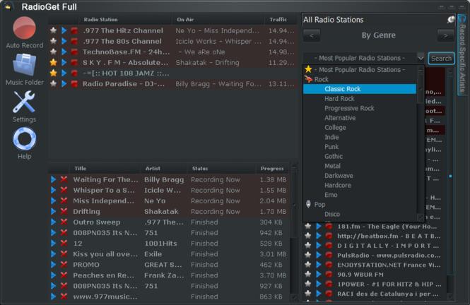 RadioGet Basic Screenshot 2