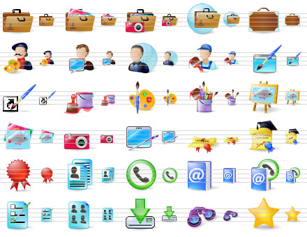 Large Portfolio Icons Screenshot 1