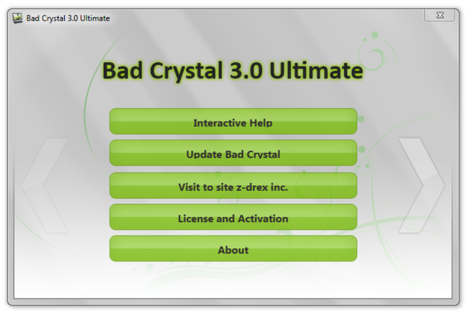 Bad Crystal 3.0 Ultimate Screenshot