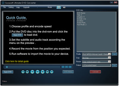 Cucusoft DVD Ripper Ultimate Screenshot 1