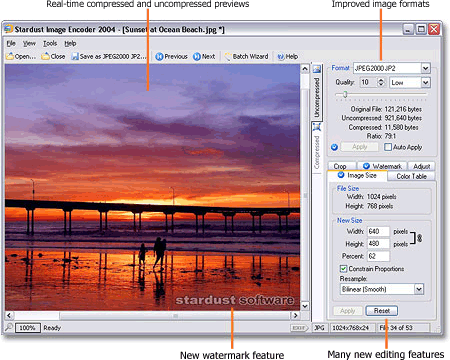 Image Encoder Screenshot