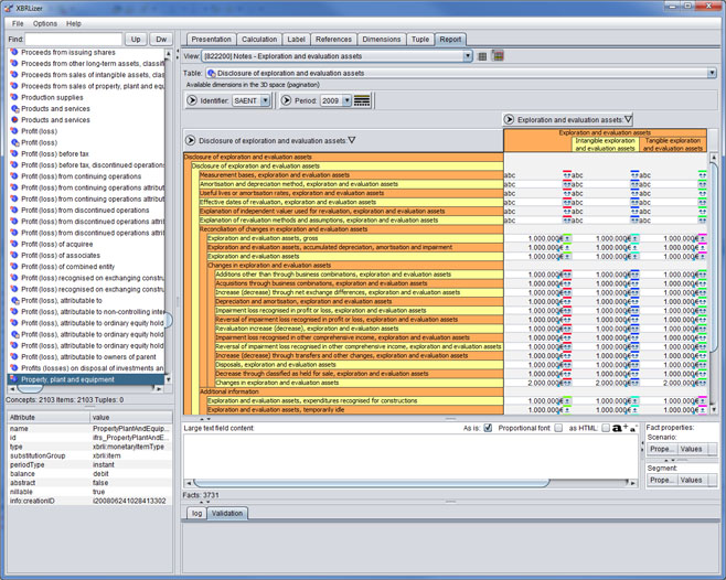 XBRLizer Screenshot 1