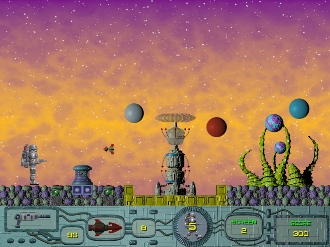Exolon. Episode II: New Wave Screenshot