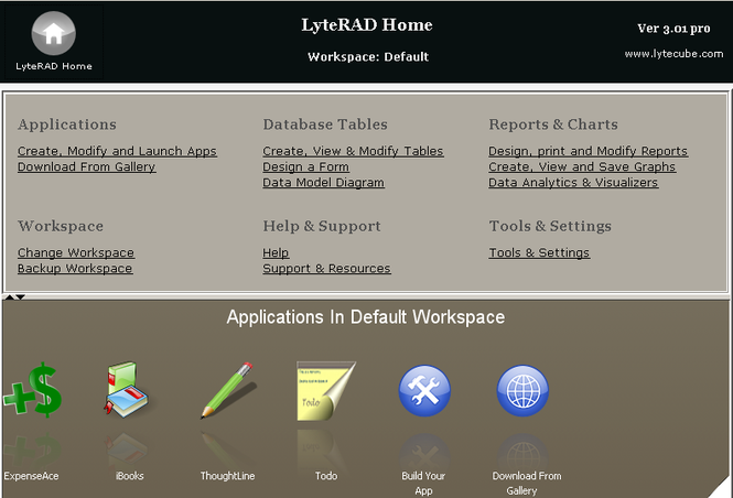 lyteRAD Pro Screenshot 1