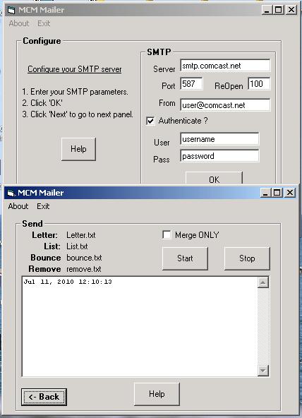 MarshallSoft Client Mailer for Delphi Screenshot