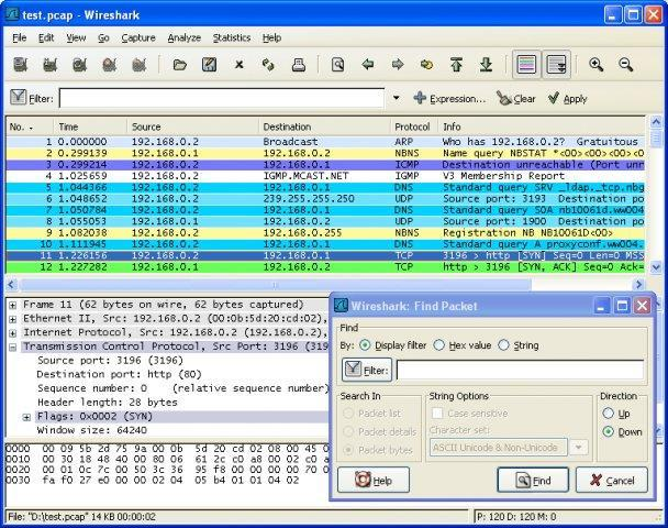 Wireshark Screenshot 1