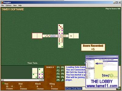 Tams11 Muggins Screenshot