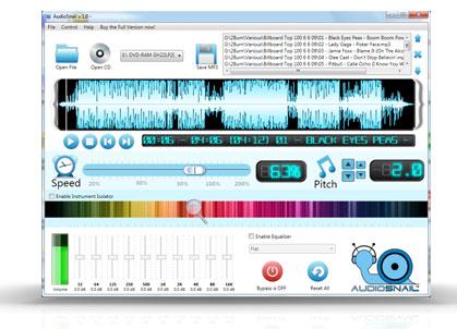 AudioSnail Screenshot 1