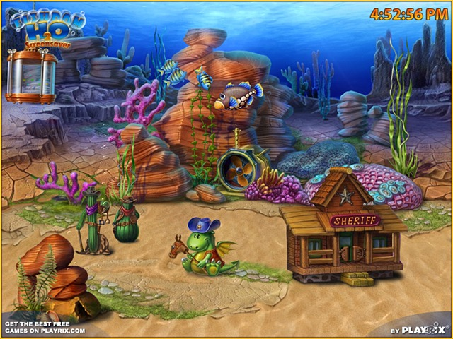 Free Fishdom H2O Screensaver by Playrix Screenshot 1