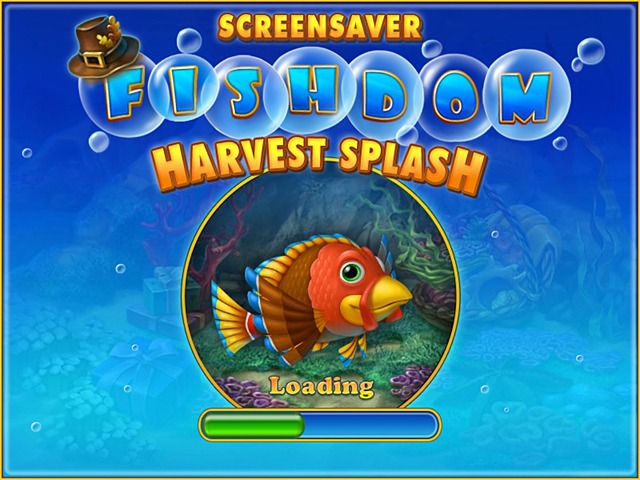 Free Fishdom: Harvest Splash Screensaver Screenshot 1