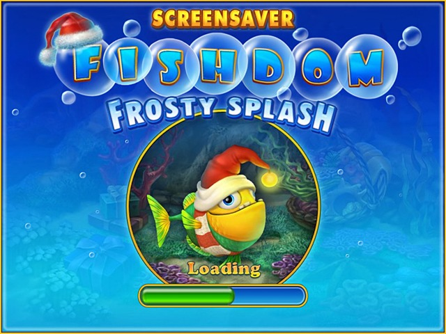 Free Fishdom: Frosty Splash Screensaver Screenshot