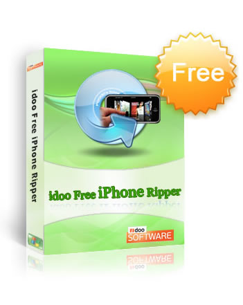 idoo Free DVD iPhone Ripper Screenshot