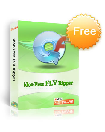 idoo Free DVD to FLV Ripper Screenshot 1