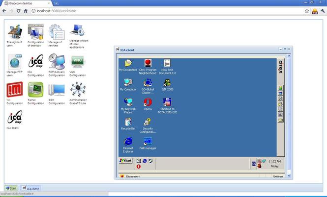 Enterprise desktop Screenshot 2