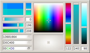 pkColorPicker Screenshot