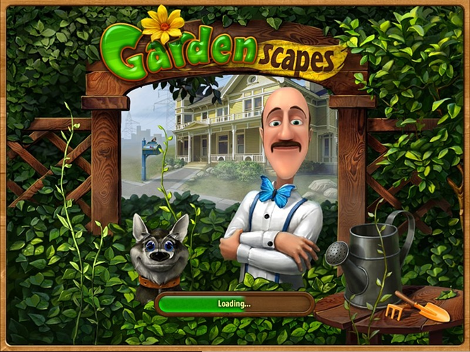 Free Gardenscapes Screensaver by Playrix Screenshot