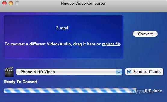 Hewbo Video Converter Screenshot 3