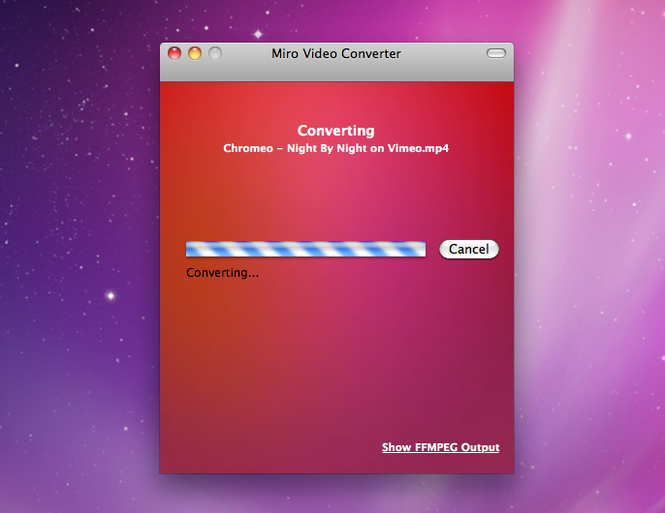 Miro Video Converter Screenshot 2