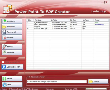 PPT To PDF Creator Screenshot 2