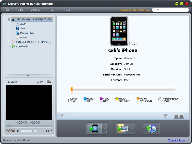 iJoysoft iPhone Transfer Ultimate Screenshot