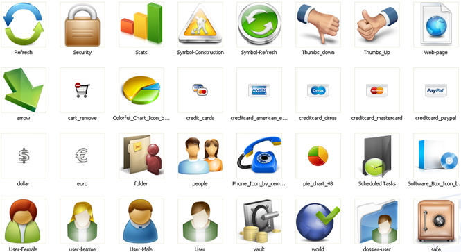 Business Icons Screenshot 2