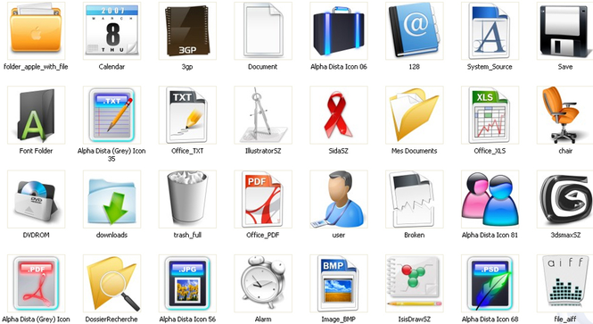 Office Icons Screenshot 2
