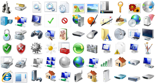 Vista Style Icons Screenshot