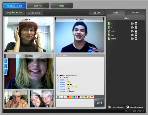 Hasha Video Chat Screenshot 1