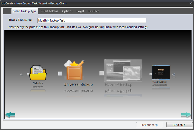BackupChain Backup Software (x64) Screenshot 1