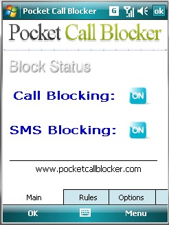 Pocket Call Blocker Screenshot