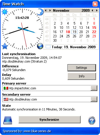 Time Watch Screenshot